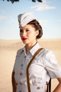 WWII Nurse portrait